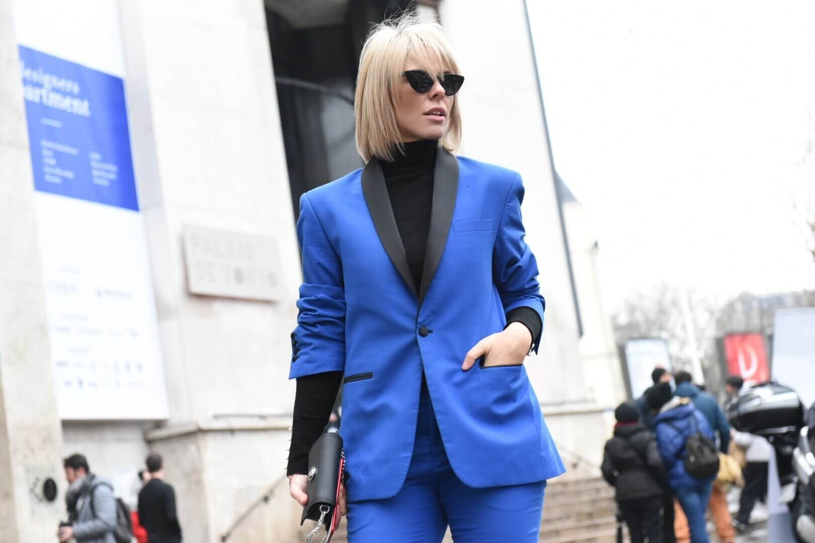 BLUE EVERYTHING #PFW