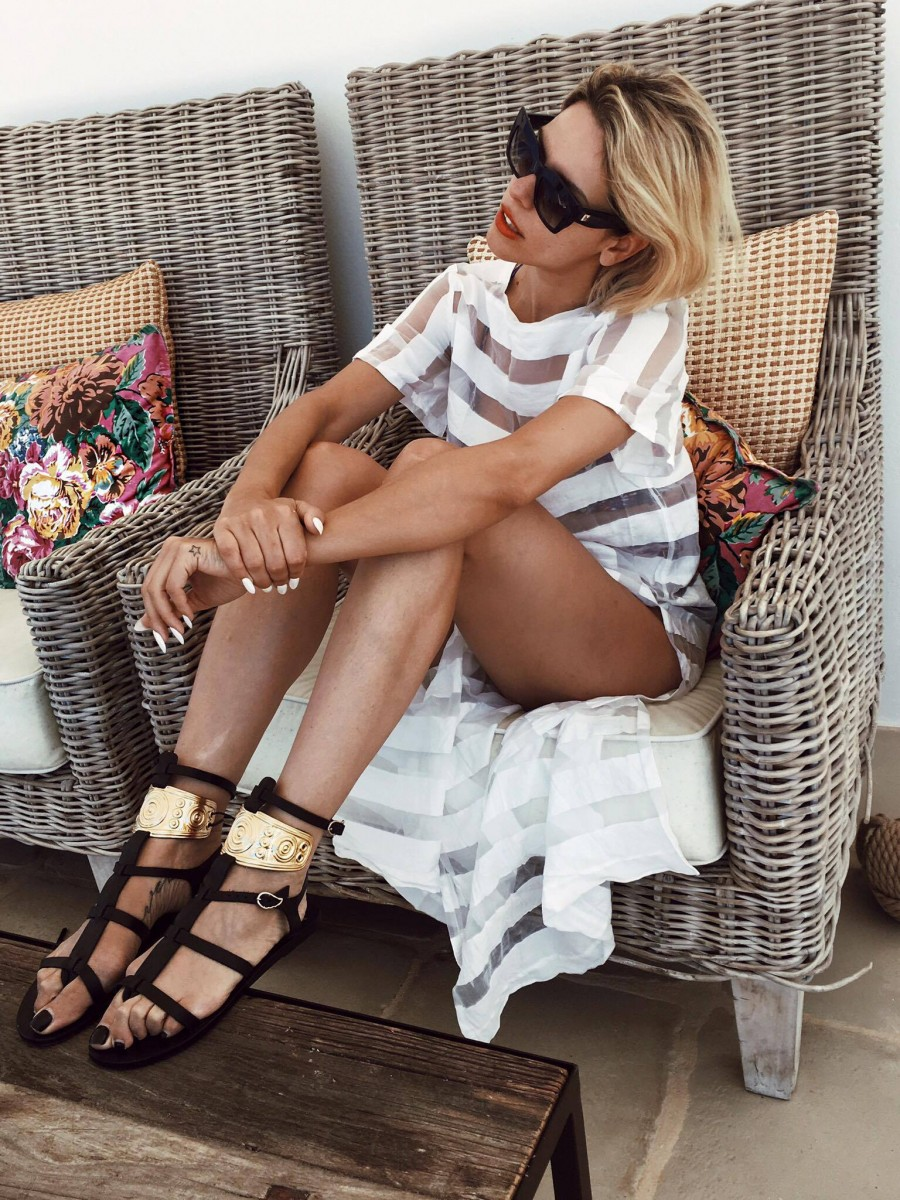 beachwear available at FASHIONNOIZ , sandals ANGIENT GREEK SANDALS